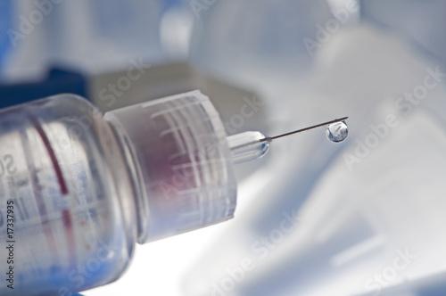 Fotografía  insulin drip