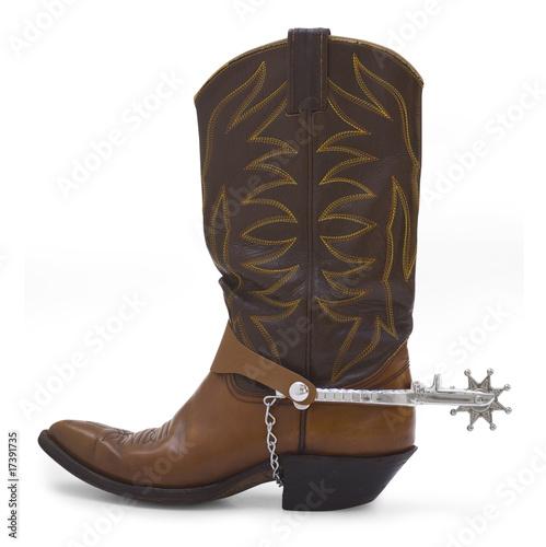 Fotografia, Obraz  Cowboy Boot