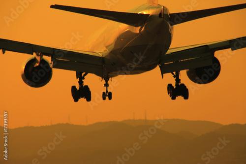 Deurstickers Militair 飛行機