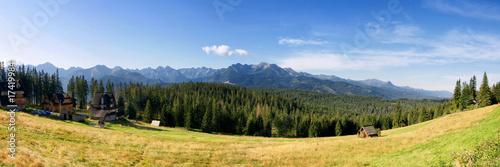 Photo  View panoramic from glodowka