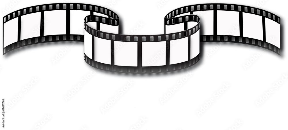 Fototapeta pellicule de cinéma