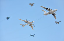 Russian Air Force Airplanes - Aerial Refueling