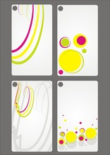 Colorful Cards Set