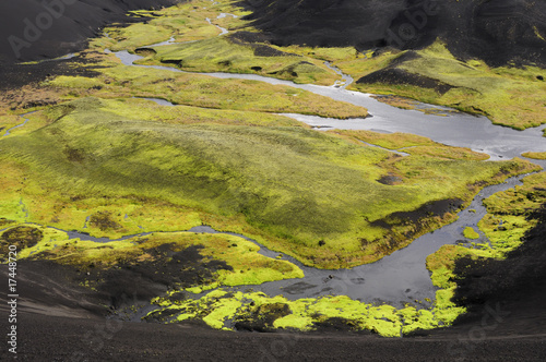Foto op Aluminium Scandinavië Fjallabaksvegur Sydri Island