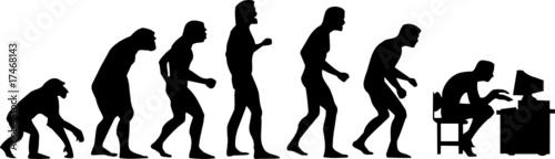 Fototapeta human evolution obraz