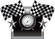 Racing Checkered Flags And Spe...