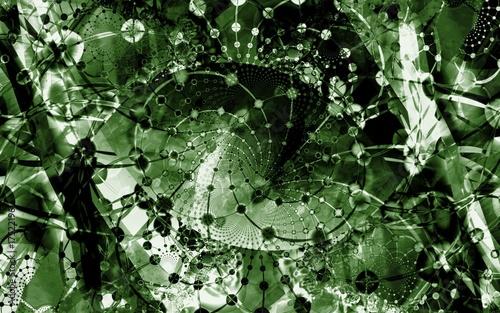 In de dag Vrouw gezicht abstract background