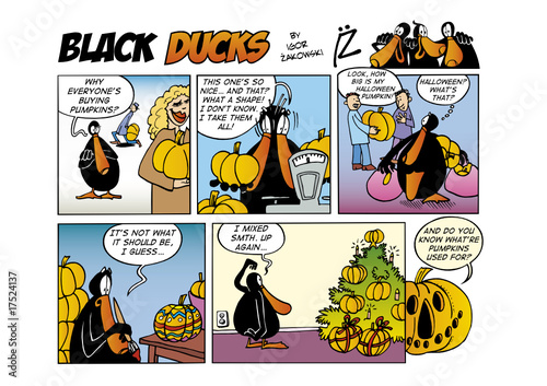 Wall Murals Comics Black Ducks Comic Strip episode 28