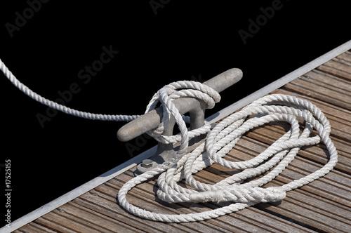 Obraz na plátně barca ormeggiata