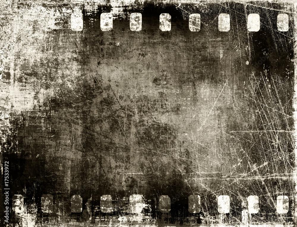 Fototapety, obrazy: grunge film background