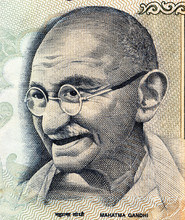 Part Of 100 Indian Rupees Bank...
