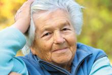 Elderly Woman - Portrait