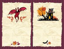Halloween Textured Backgrounds 3