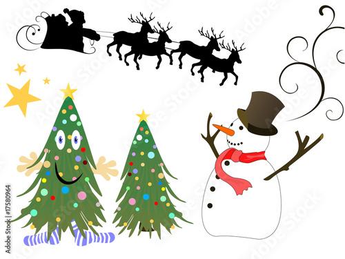 Weihnachtsbilder Jpg.Verschiedene Weihnachtsbilder Buy This Stock Vector And Explore