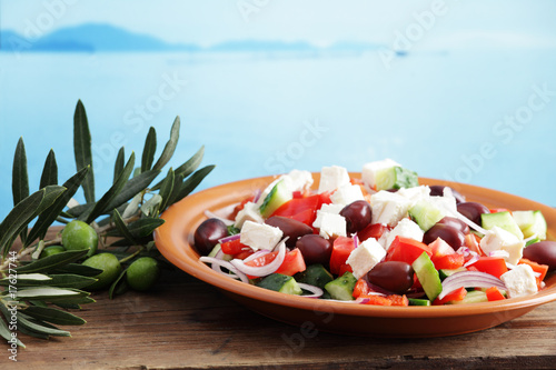 Fotografie, Obraz  Greek salad