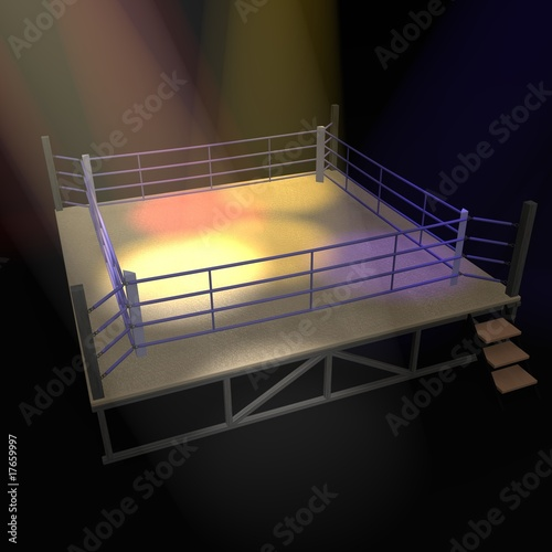 Photo  boxing ring