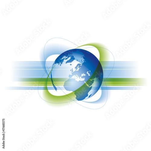 Globale Welt und Business #17668375