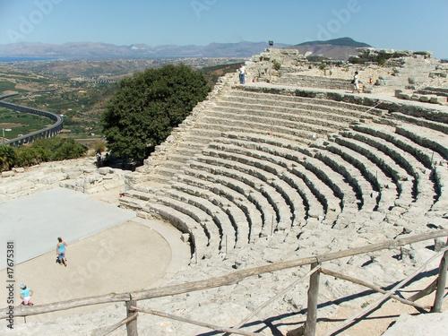 Fotografie, Obraz Anfiteatro di Segesta