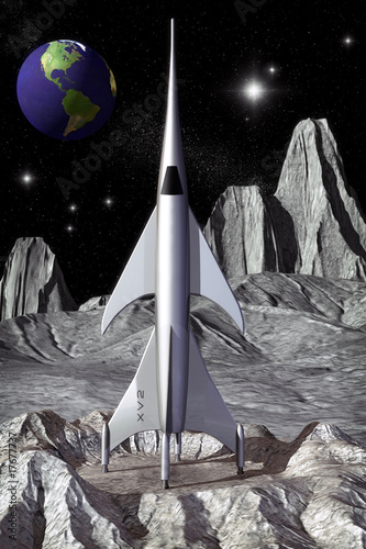 vintage-rakieta-ksiezyca