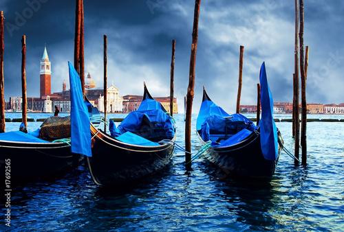 Spoed Foto op Canvas Gondolas Venezia - travel romantic pleace