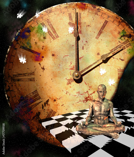 Meditation Comp Canvas Print