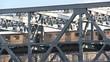 Train over bridge in new york