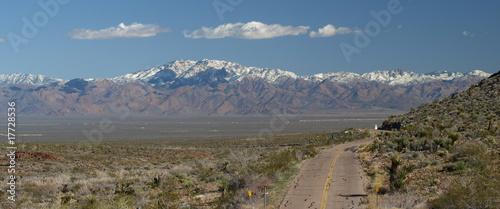In de dag Route 66 USA, Arizona, mother road