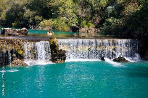 Deurstickers Turkije Waterfall Manavgat in Turkey