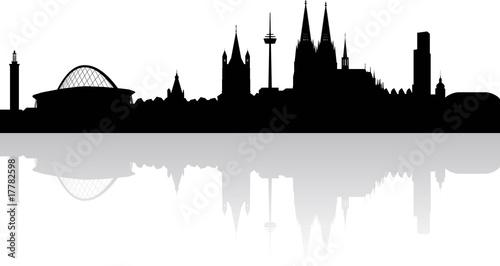 Fotografía  Köln Skyline
