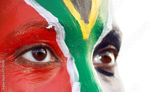 Spoed Foto op Canvas Zuid Afrika wm2010_gesicht_2