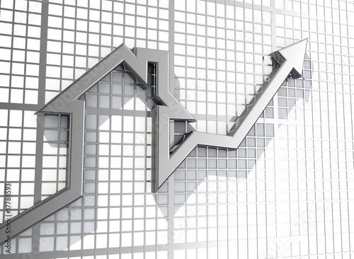Fotografía  Growing real estate sales