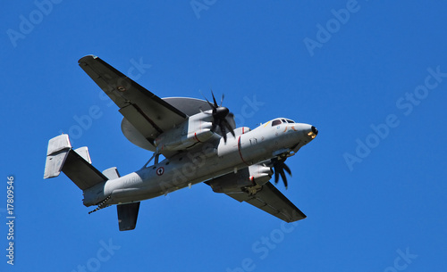 E2C HAWKEYE 1 Canvas Print