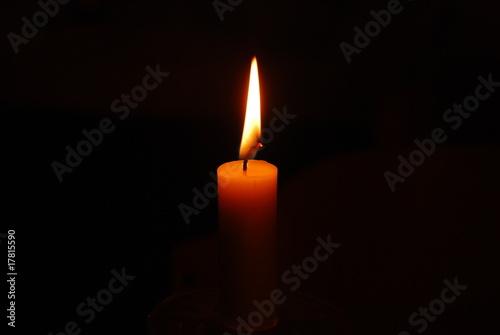 Obraz światło świecy - fototapety do salonu