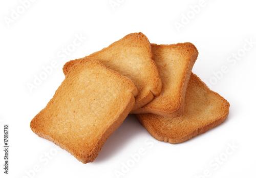 Fototapeta fette biscottate obraz