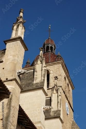 Obraz na plátně vue de saint antoine abbaye