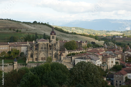Canvas Print saint antoine abbaye