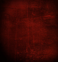 Scratched Dark Red Wall