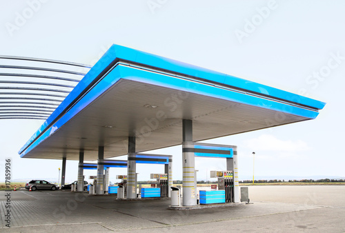 Photo  Gas station