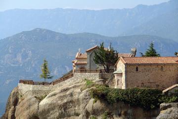 Fototapeta na wymiar Monastery in mountains