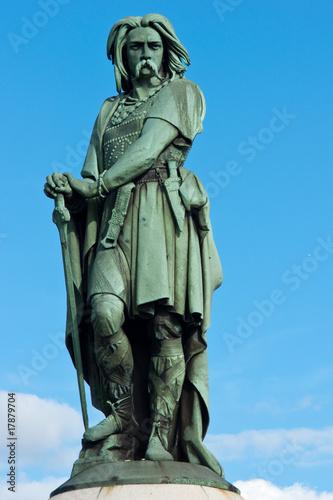 Fotografie, Obraz Statue de vercingetoix 2