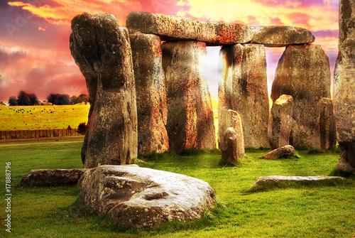 Carta da parati Fantasy Stonehenge
