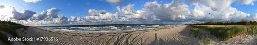 Ostsee - Panorama - Strand #17936516