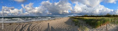 Ostsee - Panorama - Strand #17936526