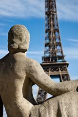 Fototapeta na wymiar La tour Eiffel