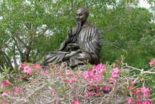 Bronze Statue Of Oriental Teac...