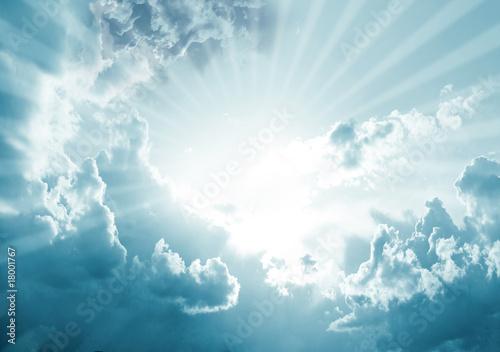 Foto  himmel wolke strahlen