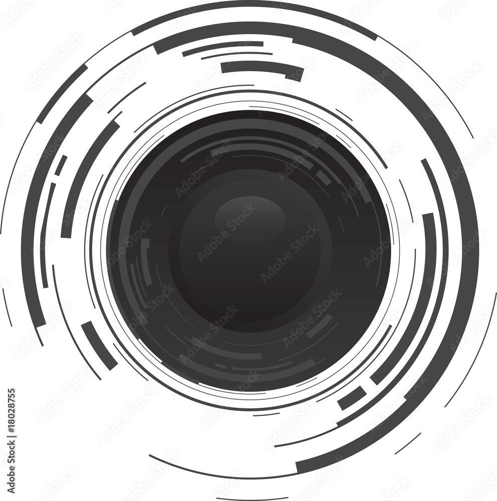 Fototapety, obrazy: camera lens