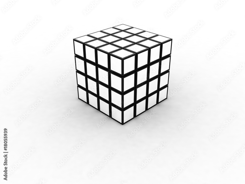 Fototapeta Cubes 3d