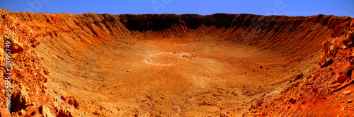 Photo Meteor Crater