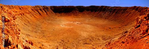 Obraz na plátne Meteor Crater
